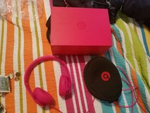 Dark Pink Beats headphones in Kingwood, Texas