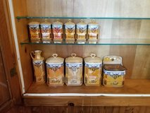Czechoslovakia Luster canister Set in Chicago, Illinois