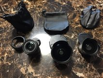 Sony FE 28mm lens and 21mm, and 16mm fisheye converters. in Okinawa, Japan