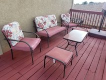 Patio furniture set in Alamogordo, New Mexico