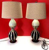 Set of 2 Large Ceramic Lamps in Kingwood, Texas