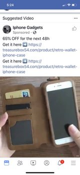 iPhone 6 case and wallet in Fairfield, California