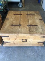 Rustic Mexican Pine Coffee Table in Fairfield, California
