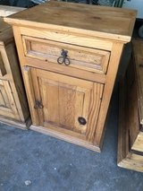 Rustic Mexican pine End Table in Fairfield, California