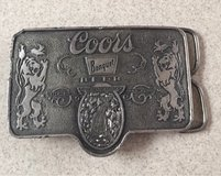 Coors Belt Buckle in Fairfield, California