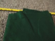 one square yard of dark green felt in Alamogordo, New Mexico