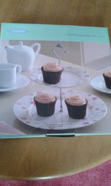 2 tier plate cupcake stand in Lakenheath, UK