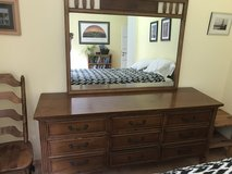 Dresser, Mirror, and Side Table in Grafenwoehr, GE