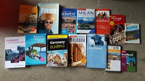 Travel books lot only in Ramstein, Germany