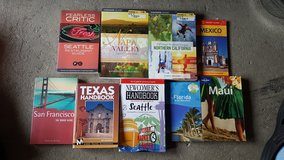 Travel books lot in Ramstein, Germany