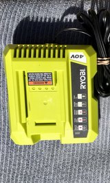 Ryobi 40 Volt Battery Charger in Travis AFB, California