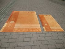 2 matching soft rugs in Ramstein, Germany