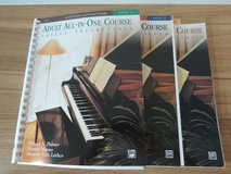 Piano Course Adult All-in-one Course: Alfred's Basic Adult Piano Course, Level 1,2,3 in Baumholder, GE