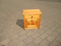pine wood night stand in Ramstein, Germany