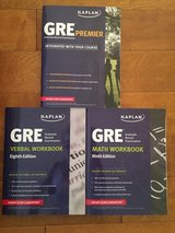 Kaplan GRE prep books in Camp Pendleton, California