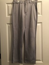 Majestic grey boys Baseball Pants Size Youth L large in Chicago, Illinois