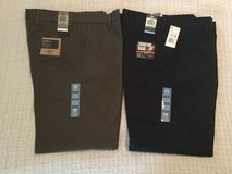NEW: Two Pair Dockers D2 Signature Khaki 34 waist, 32 length in Naperville, Illinois