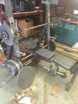 Olympic weight set in Kingwood, Texas