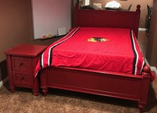 Pottery Barn Full Size Bed & Nightstand in Oswego, Illinois
