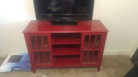 Red entertainment center - Target Threshold Windham Collection in 29 Palms, California