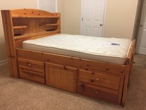 Full size bed with under bed storage, dresser in Byron, Georgia