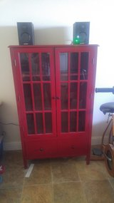 Red Bookcase - Target Threshold Windham collection in 29 Palms, California