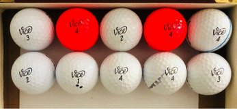 10 Vice used Golf balls near mint condition in Naperville, Illinois