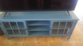 Blue Entertainment center - Target Threshold Windham Collection in 29 Palms, California