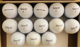 12 Snell used golf balls near mint condition in Glendale Heights, Illinois