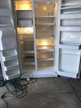 White side by side refrigerator in Westmont, Illinois
