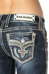 Rock Revival Jeans womens 30 waiste 34 length in Fairfield, California