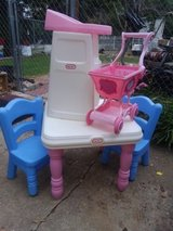 Little Tikes table and chairs with extras in Warner Robins, Georgia