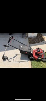 Troy Bilt Mower and Electric Weedeater in Spring, Texas