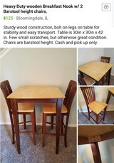 Duning Table and Chairs in Palatine, Illinois