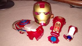 Iron Man mask and accessories in Naperville, Illinois
