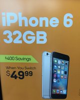 BRAND NEW iphone6 32gb in Alvin, Texas