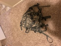Army assault pack in Fort Lewis, Washington