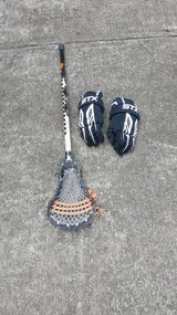 STX Youth Lacrosse Stick & Gloves in Macon, Georgia