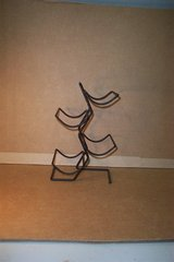 METAL FOUR BOTTLE WINE RACK in Bartlett, Illinois