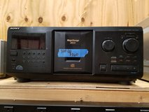 Sony CDP-CX 355 300 Disc CD Player in Bartlett, Illinois