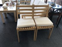 2 chairs with cushions in Naperville, Illinois