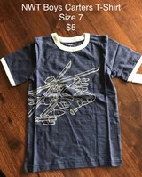 NWT Boys Carter's T-Shirt Size 7 in Naperville, Illinois