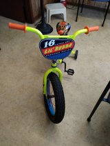 "16"" Mongoose Lil Bubba Boys' Fat Tire Bike, Neon Green in Spring, Texas"