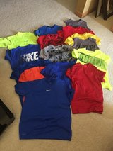 Lot of summer boys t-shirts sz 10-12 M in Naperville, Illinois