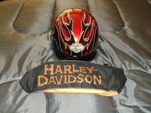 Harley Davidson Half Helmet with HD Soft Fabric Carrier for Sale!! in Camp Pendleton, California