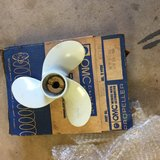Power prop new in the box for older Johnson / evinrude motor in Fort Leonard Wood, Missouri