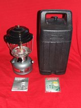 "Coleman Lantern ""Powerhouse"" Black / Carry Case Excellent Condition in Plainfield, Illinois"