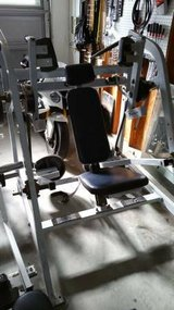 Gym Hammer Strength pullover weights machine in Camp Pendleton, California