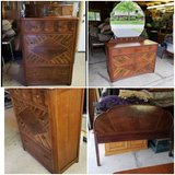 Antique Dressers & Headboard in Tinley Park, Illinois