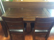 Ashley Dining table w/4chairs in Okinawa, Japan